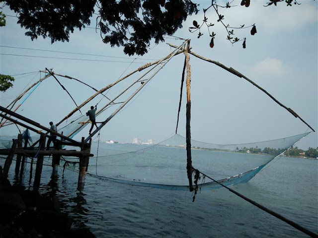 fort kochi chinese fishing nets