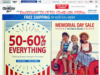 OshKosh B'gosh coupons december