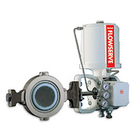 Automated butterfly control valve