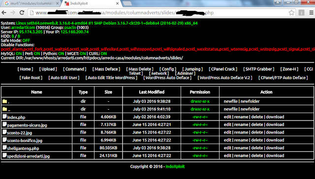 shell backdoor untuk deface website