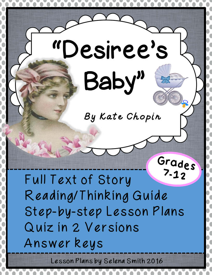 """interpretation of desiree s baby by kate Desiree's baby by: kate chopin interpretation essay in the story """"desiree's baby"""", the author writes about a great tragedy which is told using the slave settings of the 1800's when being black was seen as a curse and the brand of."""