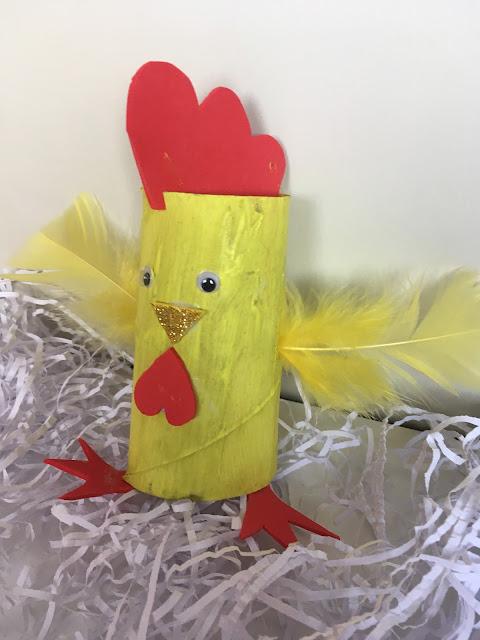 kurczak wielkanocny diy
