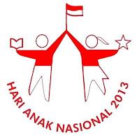 logo hari anak nasional 2013