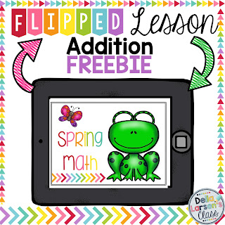 spring math-freebie-addition