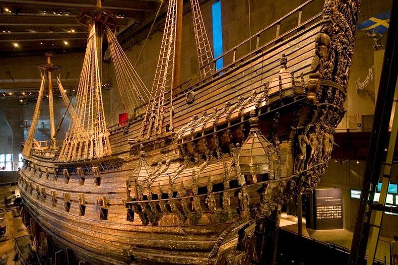 Vasa: Un buque de guerra recuperado para un museo | Estocolmo