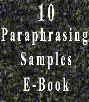essay tips what is paraphrasing paraphrasing samples