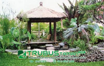 Tukang Taman Jakarta,Gazebo taman