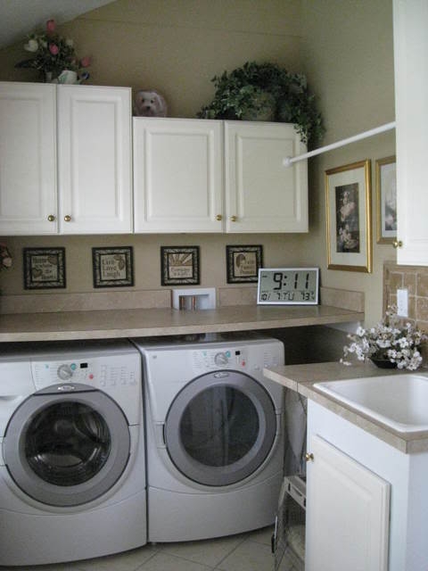 Countertop Options For Laundry Room : Ideias para Lavanderia Domestica - Design Innova