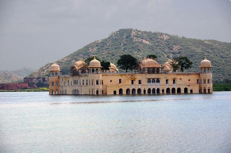El palacio sumergido Jal Mahal | India