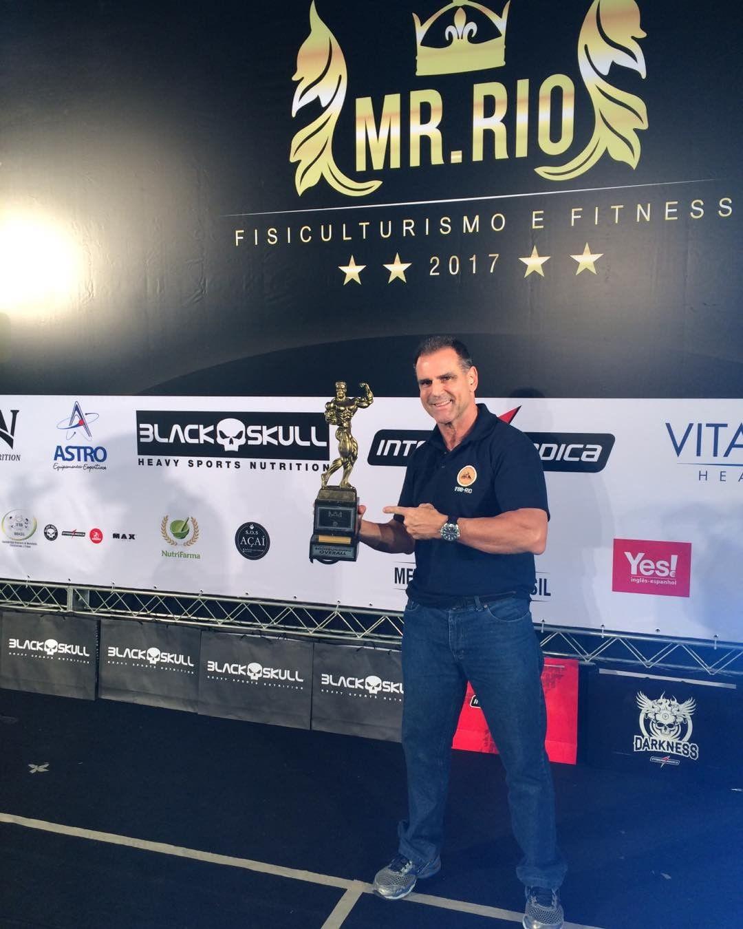 Gustavo Costa no campeonato Mr. Rio 2017, organizado pela IFBB-RIO. Foto: Arquivo pessoal