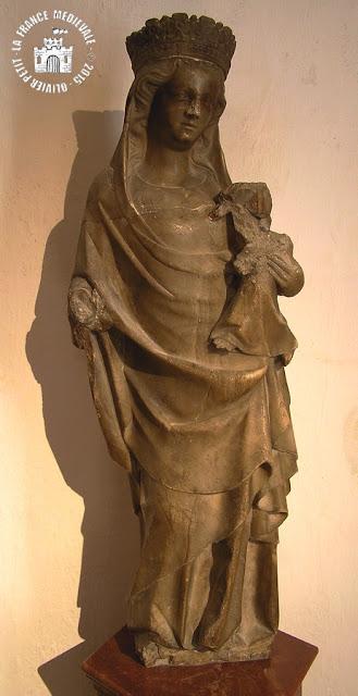 MONTBARD (71) - Abbaye de Fontenay : Musée lapidaire