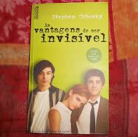 """""""As vantagens de ser invisível"""", livro do Stephen Chbosky"""