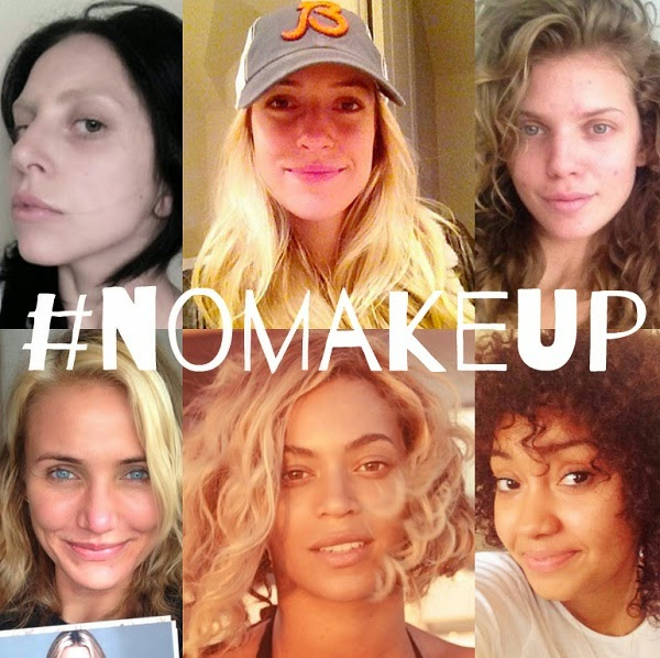 No Makeup Selfie Trend help raise £2M for cancer charity