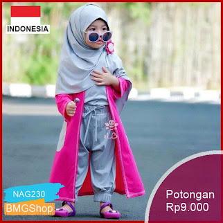 NAG230 Setelan Baju Anak Perempuan Gisela Murah Bmgshop