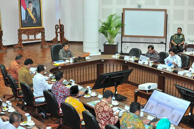 Wapres: Akan Ada Badan Otorita Yang Integrasikan Sistem Transportasi Jabodetabek