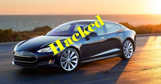 Tesla Model S Hacked Successfully By Chinese Students