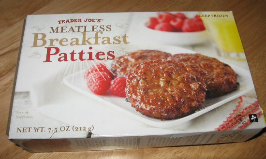Trader Joe's Meatless Breakfast Patties