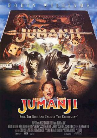 Jumanji 1995 BluRay 800Mb Hindi Dual Audio 720p Watch Online Full Movie Download bolly4u