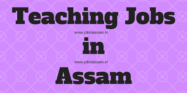 RMSA TET for Graduate Teachers for Assamese Medium Secondary Schools in Assam