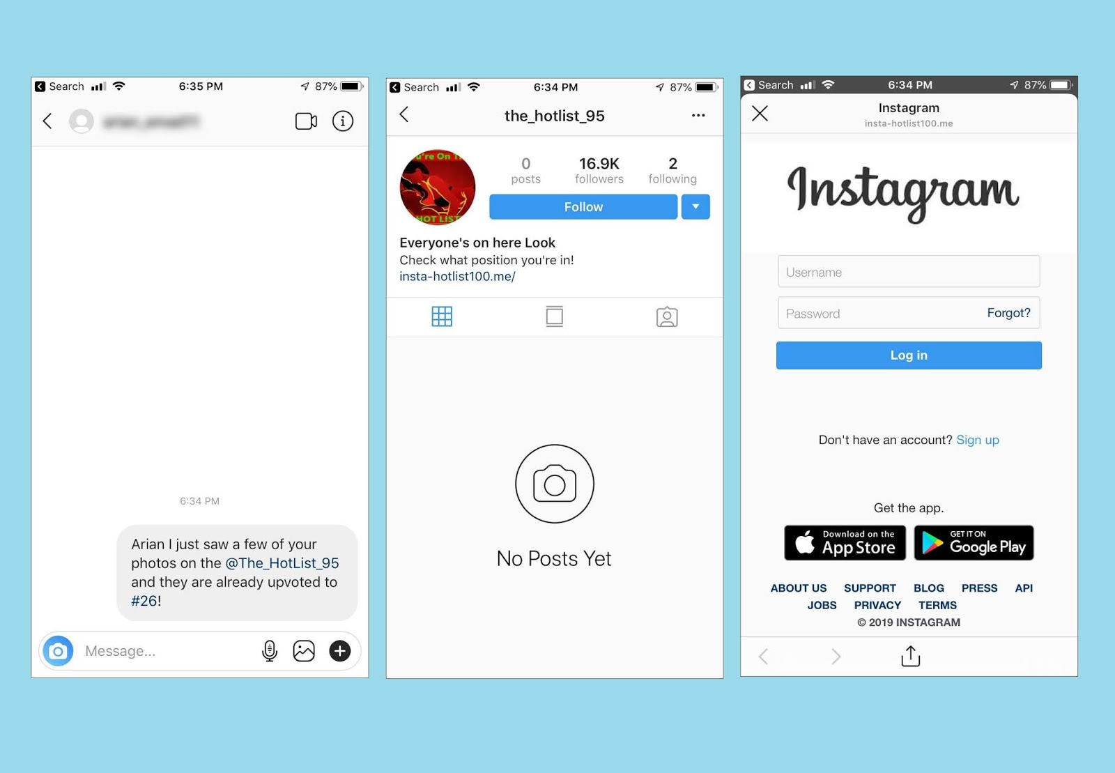 Instagram Following Under Some Names | Free Instagram Promo