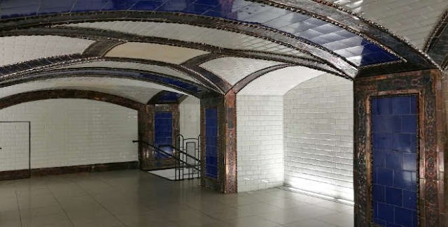 Visitas al Antiguo vestíbulo de la Estación de Pacífico