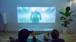 Proyector de Sony que convierte cualquier superficie en tv