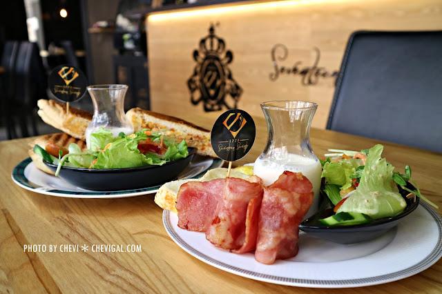 IMG 1717 - 台中西屯│1770 Cafe*棉花糖噗啾蛋好綿密。熱壓古巴麵包餡料滿滿。悠閒用餐好去處