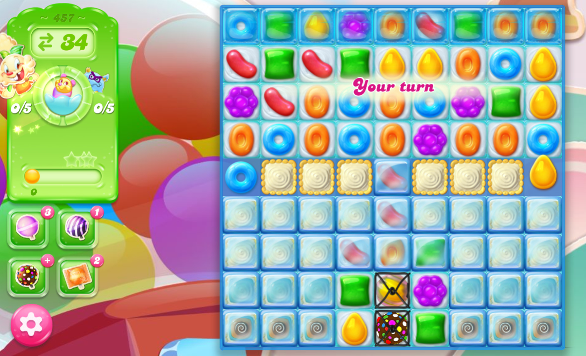 Candy Crush Jelly Saga 457