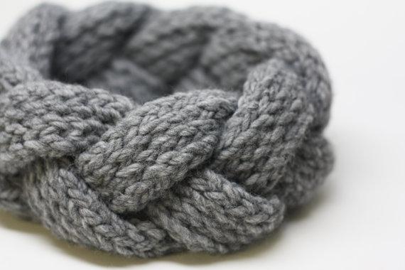 joli bandeau tricote