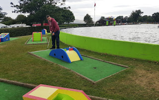 Crazy Golf at Onchan Pleasure Park in Onchan, Isle of Man