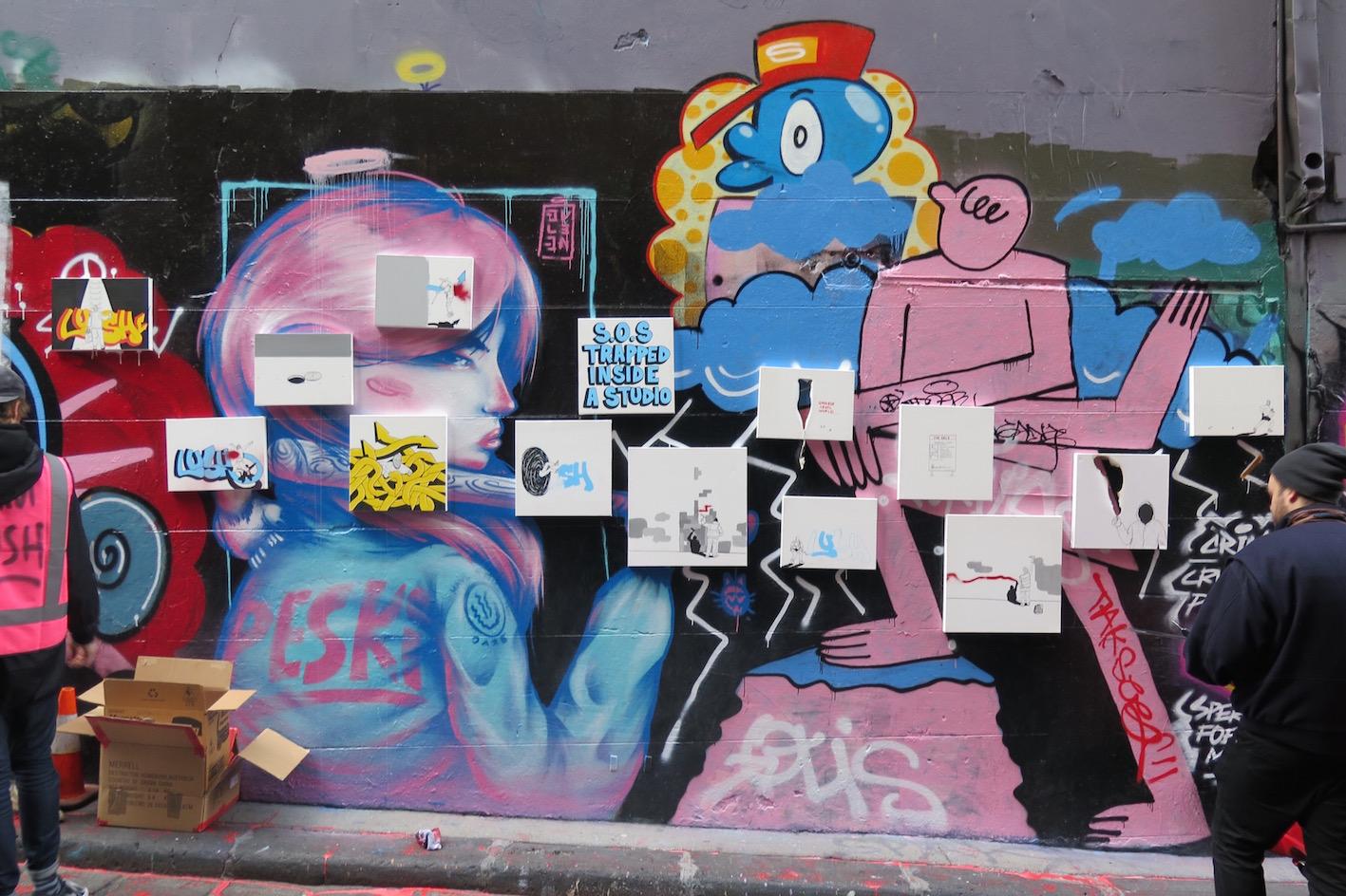 Coverage Lush Secret Pop Up Show In Melbourne Australia Streetartnews Streetartnews