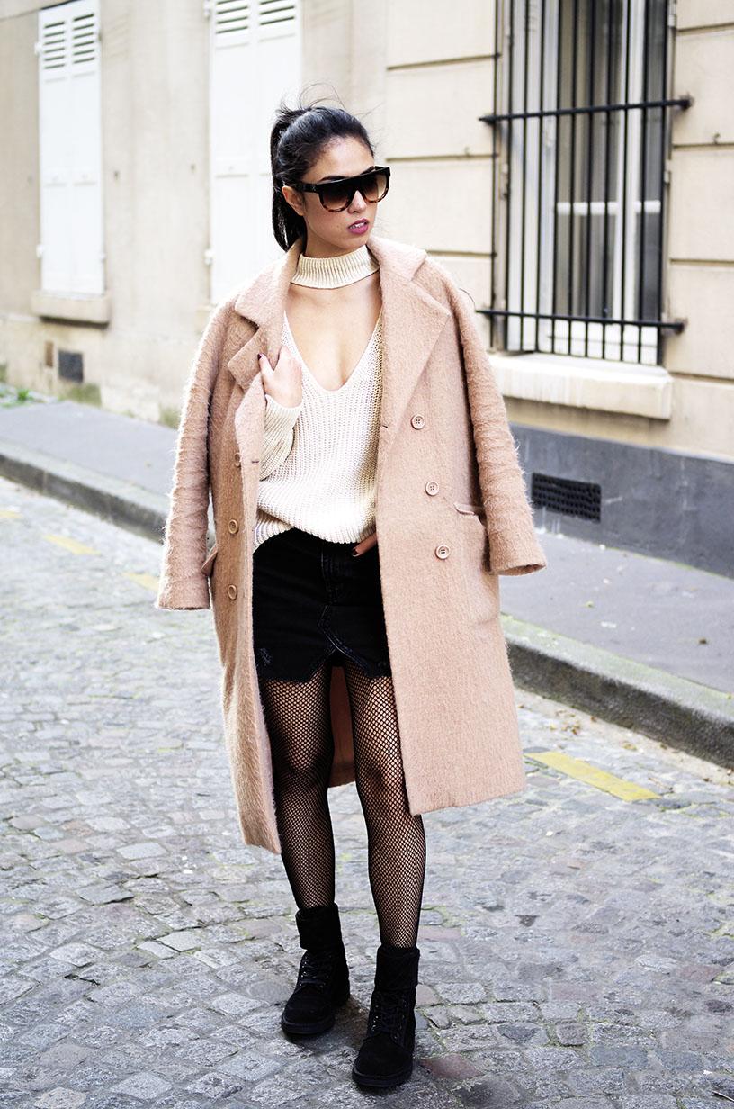 Elizabeth l Grunge outfit blog mode fishnets résille l THEDEETSONE l http://thedeetsone.blogspot.fr