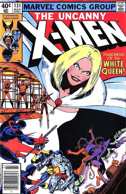 X-men v1 #131 marvel comic book cover art by John Byrne