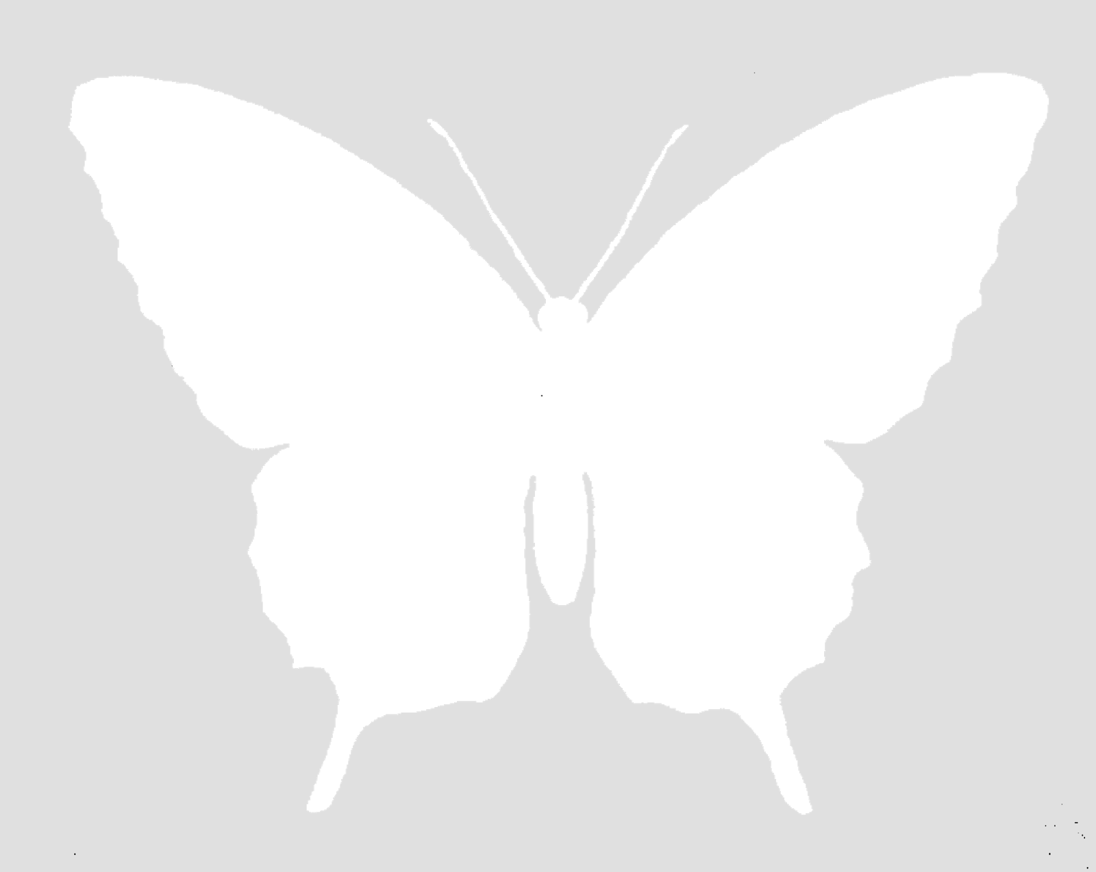 Monarch free butterfly silhouette image grayscale digital supplies - The Graphics Monarch Free Butterfly Silhouette Image