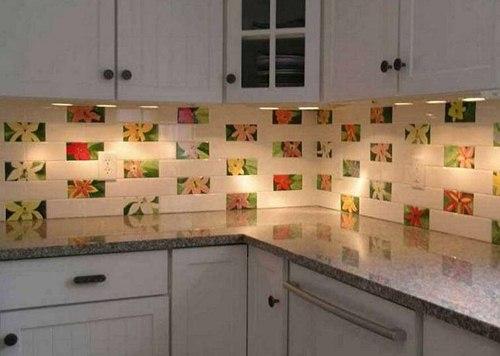 40 Motif Keramik Dinding Dapur Minimalis Modern Yang Terbaru