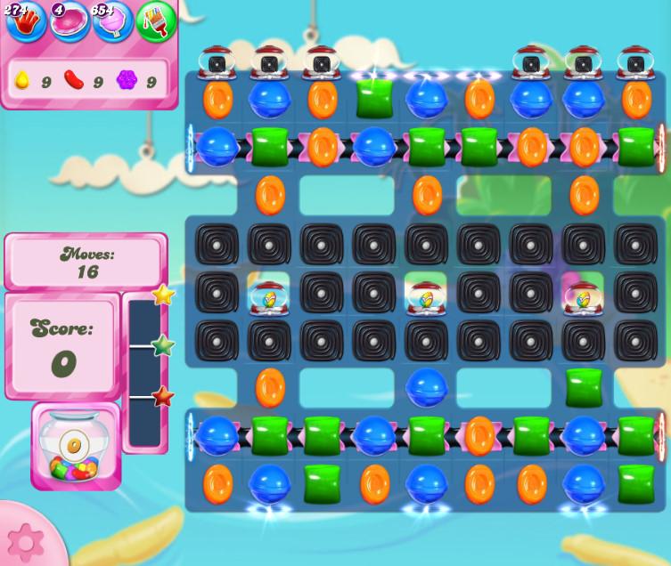 Candy Crush Saga level 2687