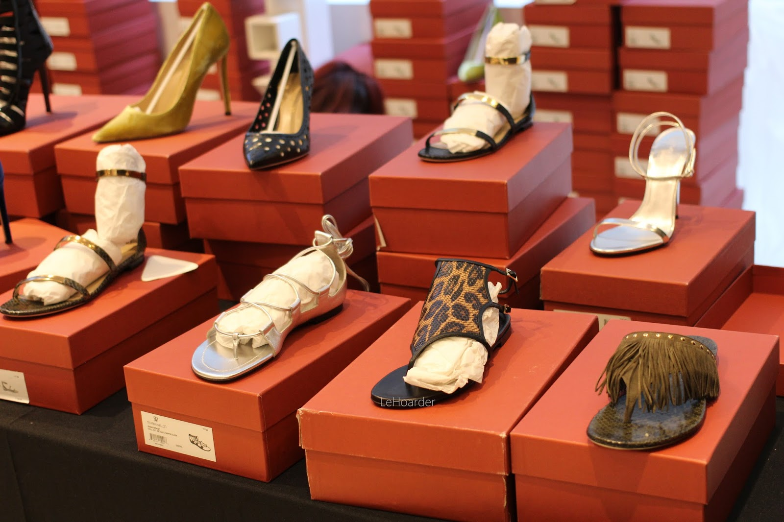 My Latest NYC Sample Sale Marathon; Tamara Mellon, Korres and More ...