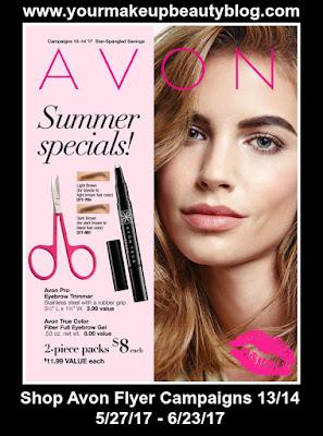 Shop Avon Flyer Campaigns 13/14 Good Through 6/23/17