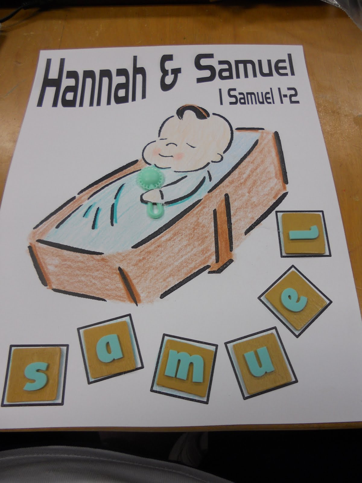 Hands On Bible Teacher Eli Hannah And Samuel