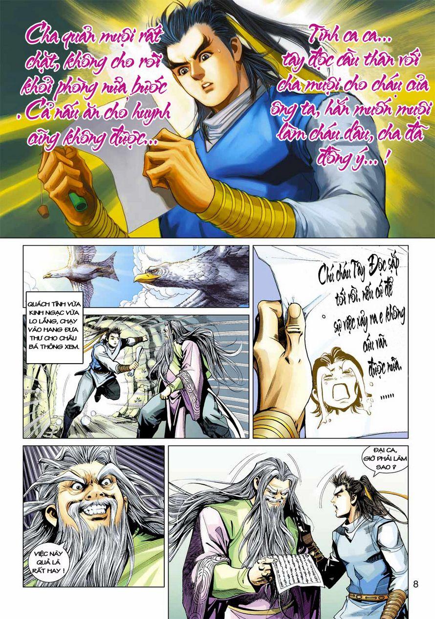 Anh Hùng Xạ Điêu anh hùng xạ đêu chap 43 trang 8