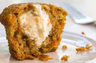 http://everydaydishes.com/simple-food-recipes/inside-out-carrot-cake-muffins-recipe/