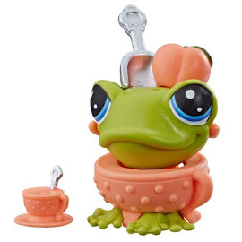 LPS Series 4 Thirsty Pets Frog (#4-161) Pet