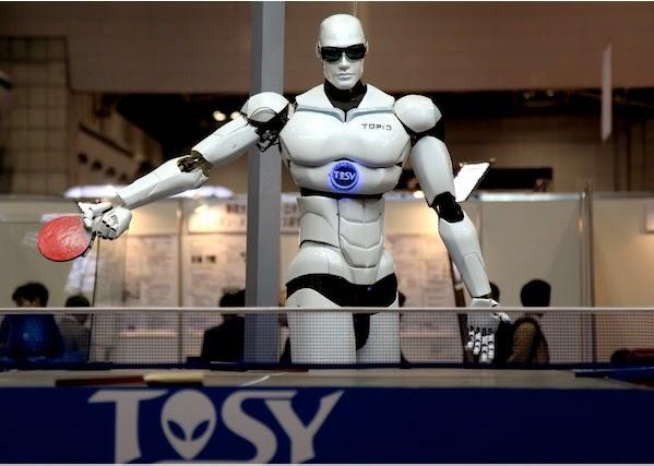 اليابان تريد مشاركة الروبوت في الألعاب الأولمبية