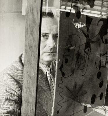 O artista Joan Miró em imagem de arquivo - Divulgação