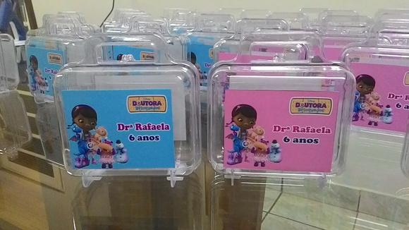 Lembrancinha Doutora Brinquedos Maleta