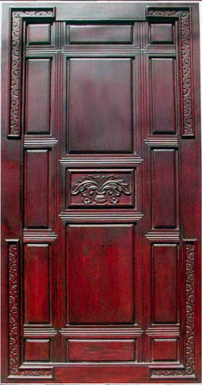 Latest Kerala Model Wood single Doors designs gallery-I ...