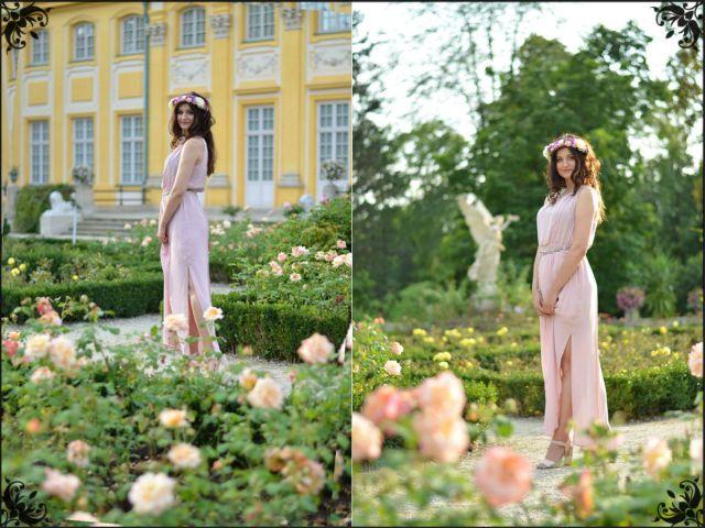Moda, modelka, sesja zdjęciowa w Wilanowie, Dresses, Sukienka, Warszawa