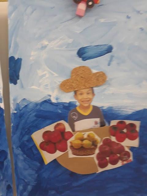 Releitura de Obra O Vendedor de Frutas Tarsila do Amaral
