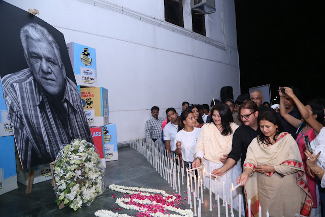 Actress Sarika, Director Seema Kapoor and Actor Vinay Pathak paid homage to actor OM PURI during Jagran Film Festival