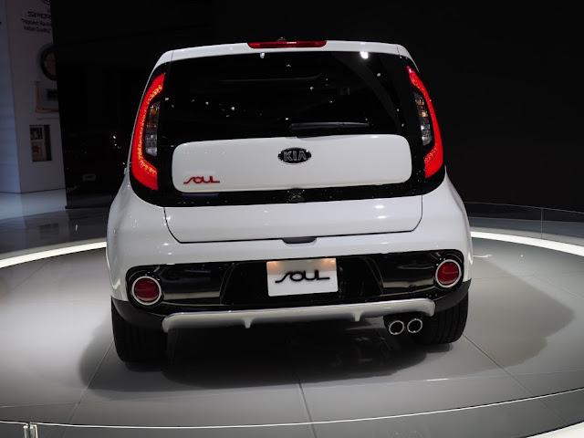 Kia Soul Turbo - rear